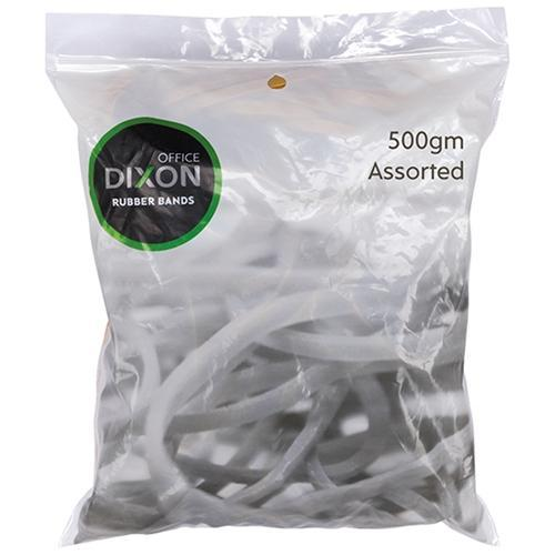 Croxley Dixon Rubber Band Assorted Size 500g