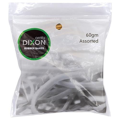 Croxley Dixon Rubber Band Assorted Size 60g