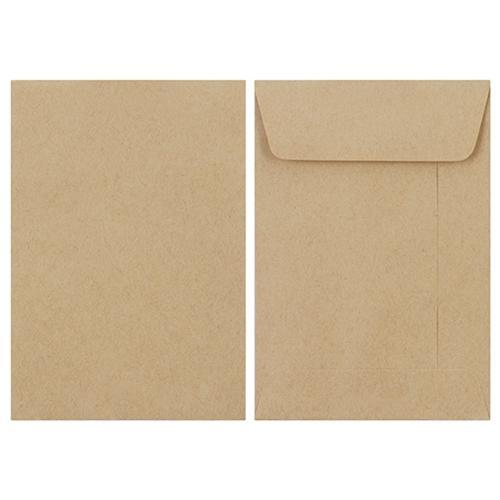 Croxley E4 Manilla Wage Envelopes Peel & Seal Pockets