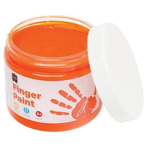 Croxley EC Finger Paint 250ml - Orange