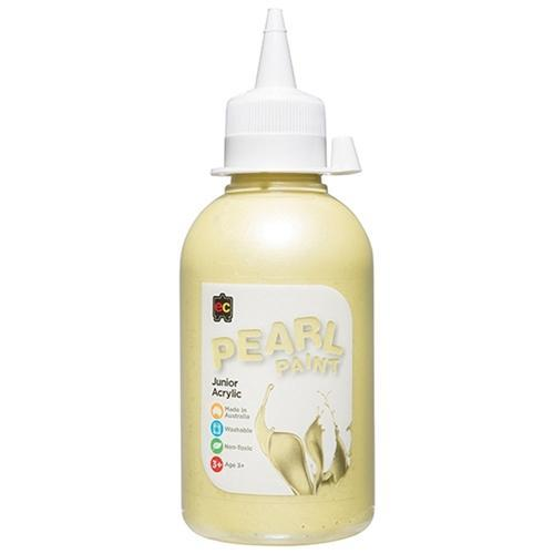 Croxley EC Pearlescent Acrylic Paint 250ml - Yellow