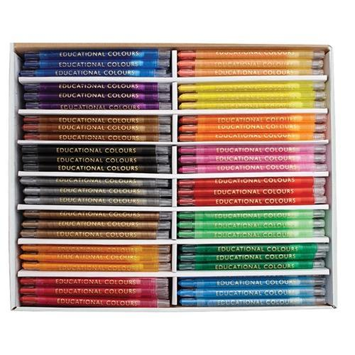 Croxley EC Twist It Crayons 240's