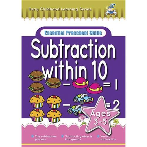 Croxley Essential Preschool Skills - Subtraction Within 10 for 3-5 yrs