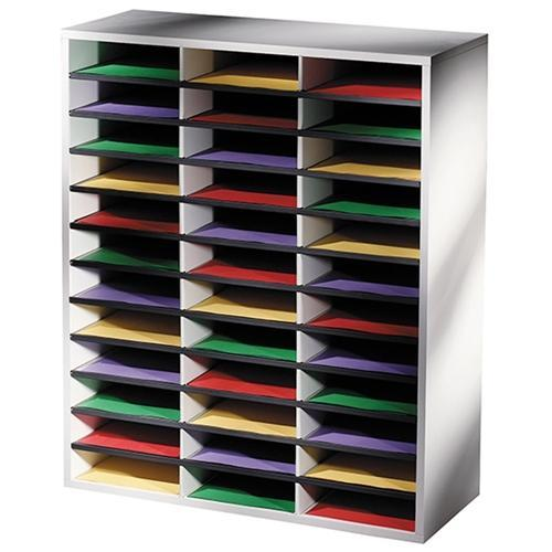 Croxley Fellowes Literature Sorter - 36 Compartments