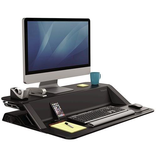 Croxley Fellowes Lotus™ Sit-Stand Workstation - Black