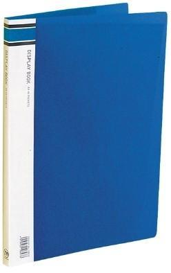 Croxley FM A4 Display Book 40 pocket Blue