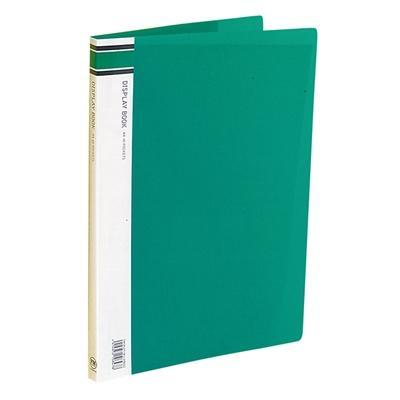 Croxley FM A4 Display Book 40 pocket Green