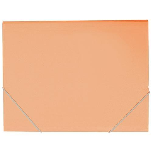 Croxley FM A4 Document Wallet Pastel Sunset Orange