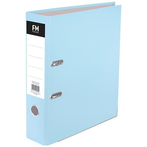 Croxley FM A4 Lever Arch File Pastel Baby Blue