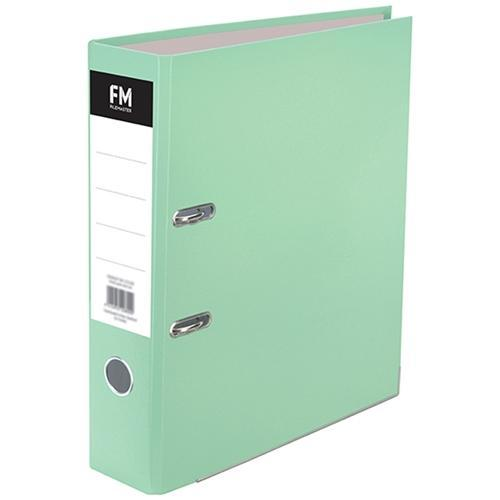 Croxley FM A4 Lever Arch File Pastel Green