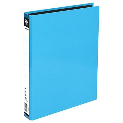 Croxley FM A4 Vivid Ring Binder 2/26 Ice Blue