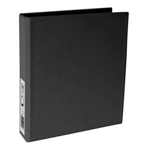 Croxley FM A5 PVC Ring Binder 2/26 Black