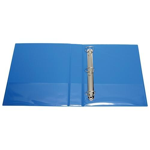 Croxley FM Overlay Insert Cover A4 Ring Binder 3/38 - Light Blue