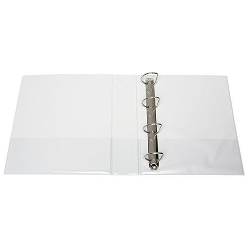 Croxley FM Overlay Insert Cover A4 Ring Binder 4/50 - White