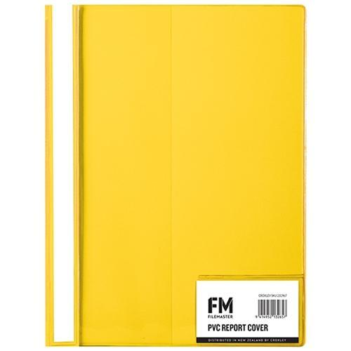 Croxley FM PVC Report Cover - Yellow