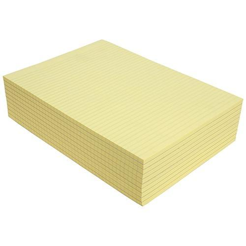 Croxley Olympic A4 Yellow Topless Pad 100 Leaf