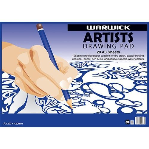 Croxley Warwick Artists Drawing Pad A3