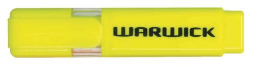 Croxley Warwick Highlighter Stubby - Yellow