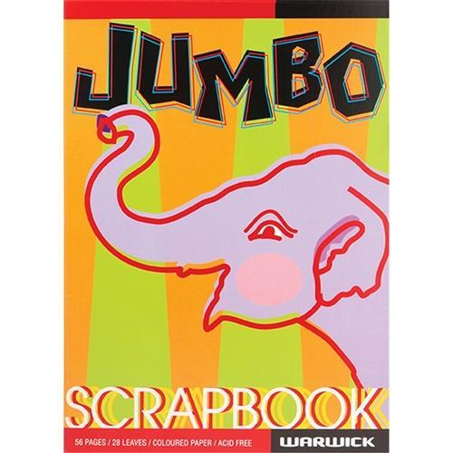 Croxley Warwick Jumbo Scrapbook 335 x 245mm Coloured Pages