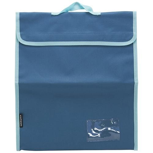 Croxley Warwick Plus Homework Bag with Handle - Blue