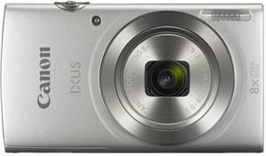 Dove Canon IXUS 185IS 20.0MP 8x Zoom Digital Camera - Silver