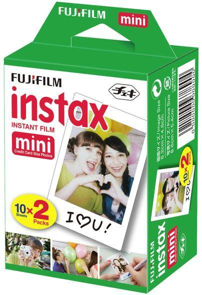 Dove Fujifilm Instax Mini Film 20 Pack