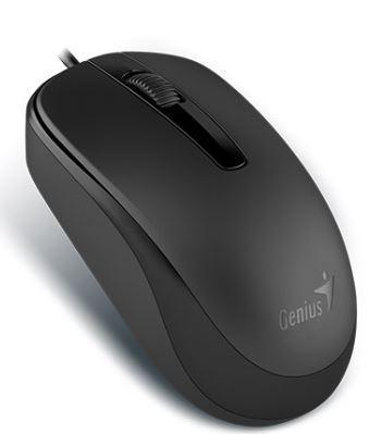 Dove Genius DX-120 USB Mouse Black