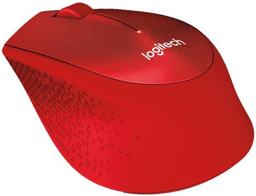 Dove Logitech M331 Silent Plus Wireless Mouse Red