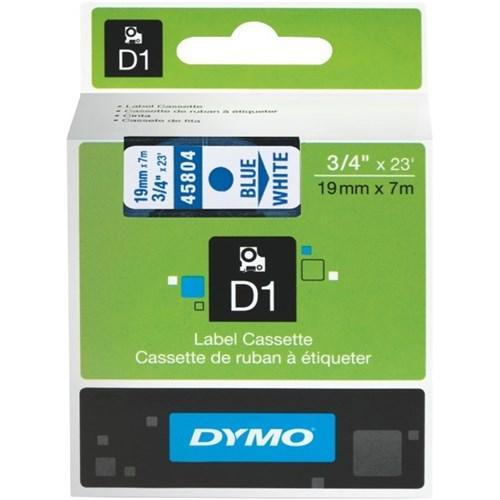 Dynamic Default Title Dymo D1 Tape 19mm Blue on White (45804)