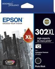 Dynamic Default Title Epson 302XL Claria Premium Photo Black Original Cartridge