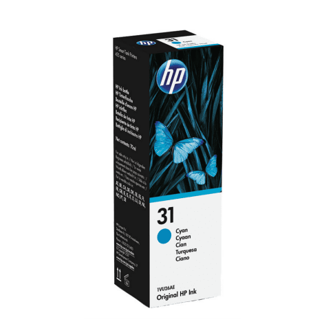 Dynamic HP Smart Tank 31 Cyan Ink Tank Bottle 70ml