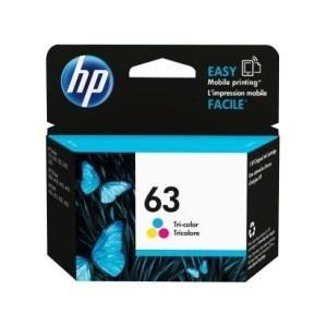 Dynamic HP63 / HP 63 / F6U61AA Colour Original Ink Cartridge