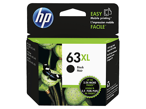 Dynamic HP63 XL / HP 63XL / F6U64AA High Yield Black Original Ink Cartridge