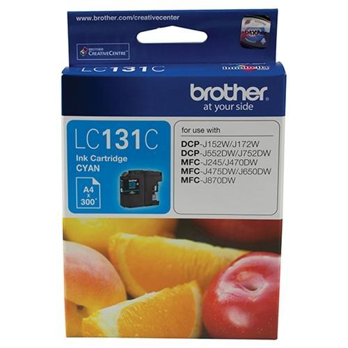 Dynamic LC131 / LC131C Cyan Brother Original Cartridge