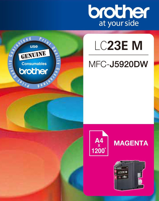 Dynamic LC23 / LC23E Magenta Brother Original Cartridge