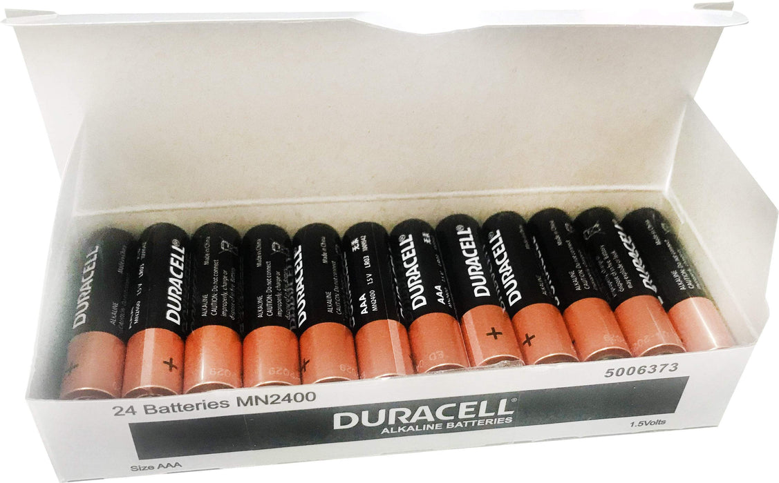 Fresh Office Duracell AAA Alkaline Batteries 24's Pack