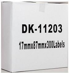 Fresh Print Brother DK 11203 Compatible Address Label 17 x 87mm