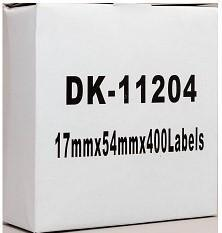 Fresh Print Brother DK 11204 Compatible Address Label 17 x 54mm
