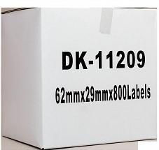 Brother DK 11209 Compatible Address Label 29 x 62mm