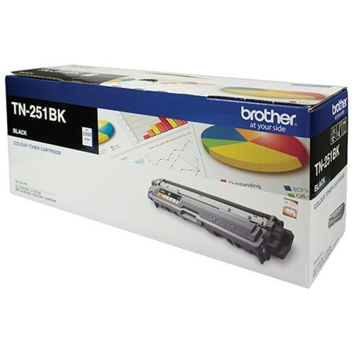 Fresh Print Brother TN251 / TN 251BK Black Genuine Toner