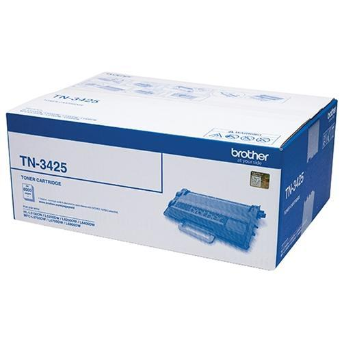 Fresh Print Brother TN3425 / TN 3425 High Yield Black Genuine Toner