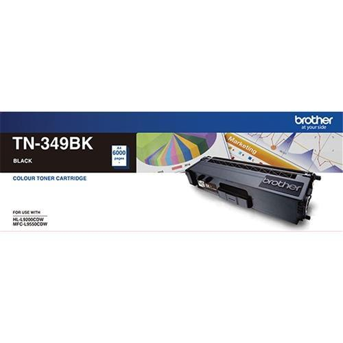 Fresh Print Brother TN349 / TN349BK Black High Yield Genuine Toner