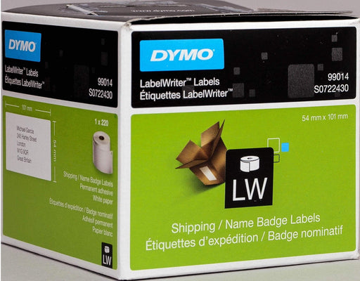 Fresh Print Dymo LW 101 x 54mm Shipping Labels (99014)