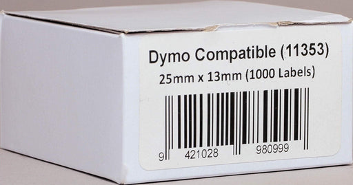 Fresh Print Dymo LW 25 x 13mm Compatible Multipurpose Labels (11353)
