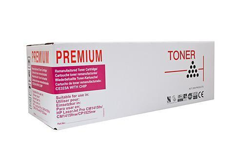 Fresh Print HP 128A / CE323A Remanufactured Compatible Magenta Toner