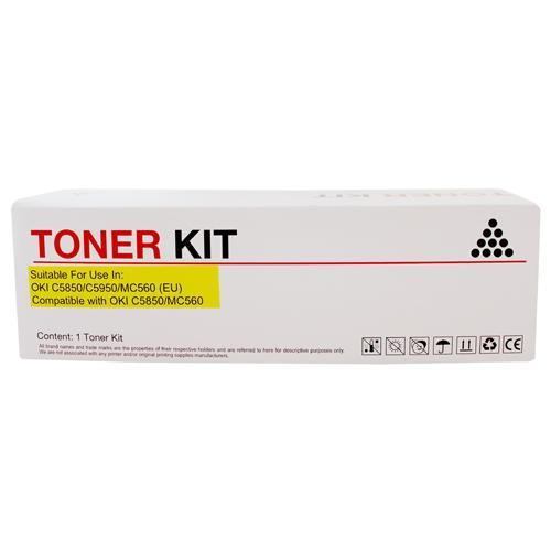 Fresh Print Oki C710 / C711 Compatible Yellow Toner