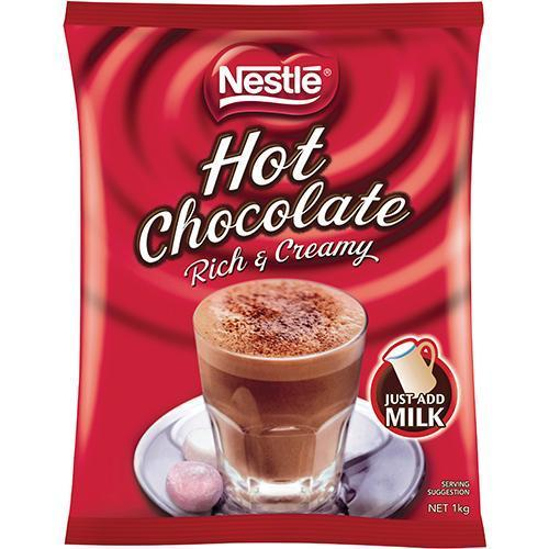Gilmours Nestle Rich & Creamy Hot Chocolate 1kg