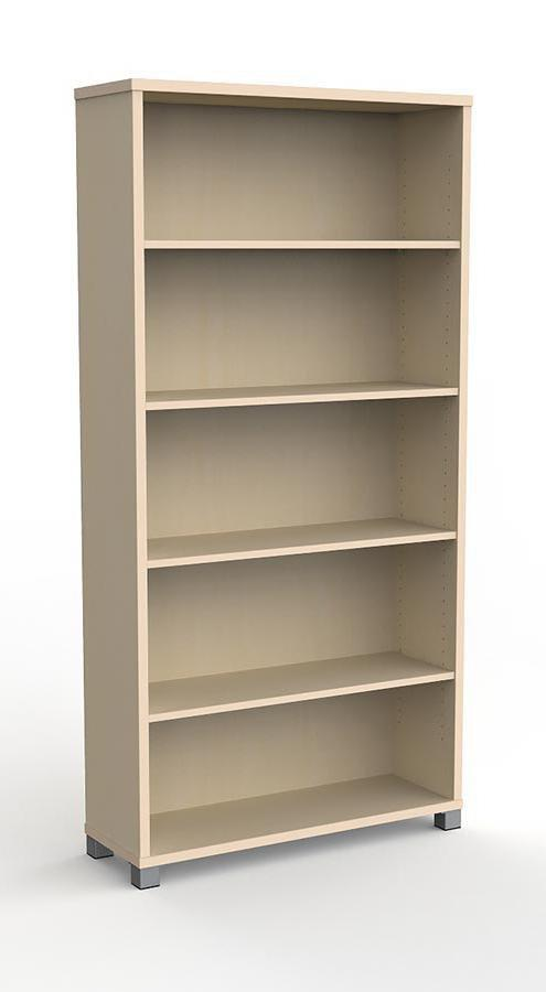 Knight Cubit Bookcase - 1800 x 900 x 315mm - Nordic Marble