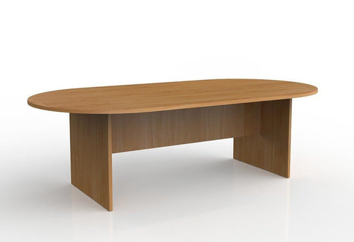Knight Ergoplan Boardroom Table 2400mm x 1200mm - Tawa
