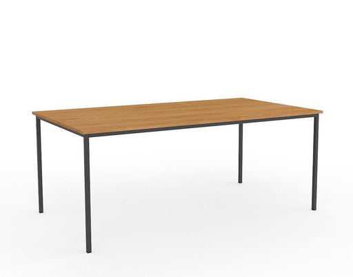 Knight Ergoplan Canteen Table 1800mm x 800mm - Tawa / Black